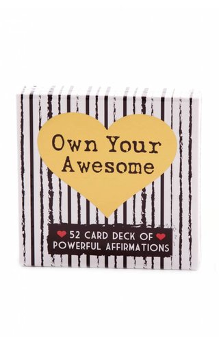 Your Joyologist Own Your Awesome Affirmation Deck
