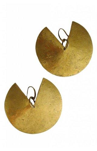 HavanaFlamingo-Etsy Pac-Man Tribal Earrings