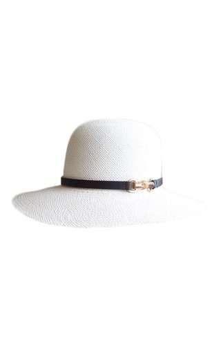Lehfeldt Penelope Panama Straw Hat