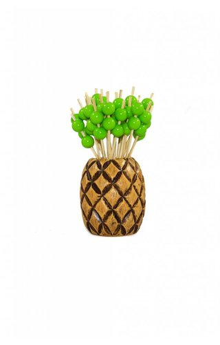 Two's Company Pineapple Pick Holder