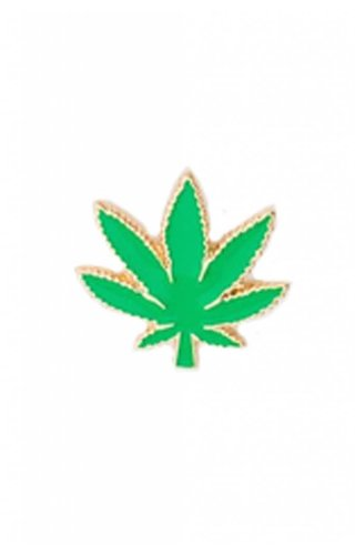 Pot Leaf Pin
