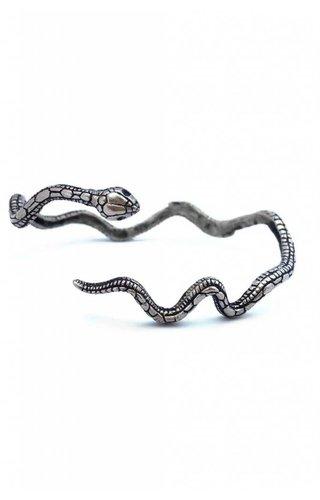Serpent Cuff Silver