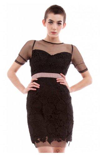Soieblu Sheer and Sweet Dress