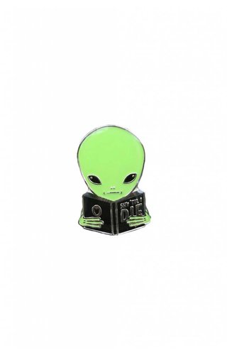 Crywolf Shy Guy Alien Pin