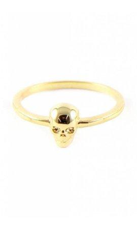 Ettika Stacked Ring in Metallic Gold T1Wz2w