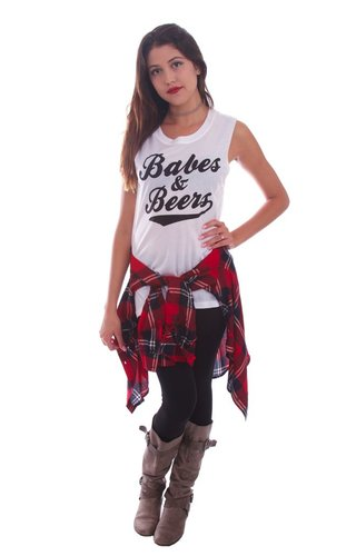 Social Decay Social Decay Babes & Beers Muscle Tee