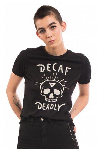 Social Decay Social Decay Deadly Decaf Tee