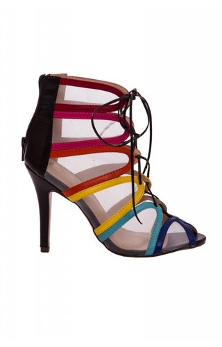 Somewhere Over The Rainbow Heels