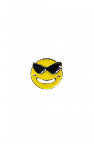 Sun Glasses Emoji Pin