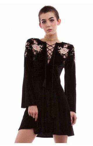 SugarLips Sweet Jane Velvet Dress