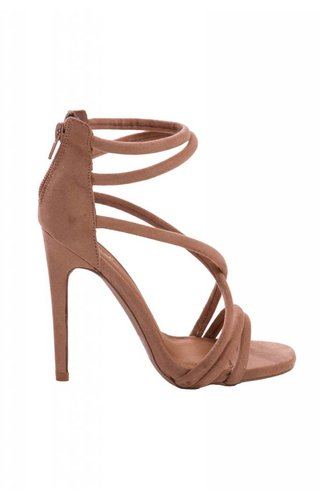 Touchable Taupe Heels