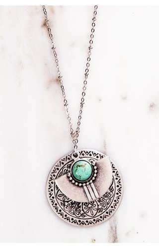 Yugen Tribe Turquoise Necklace