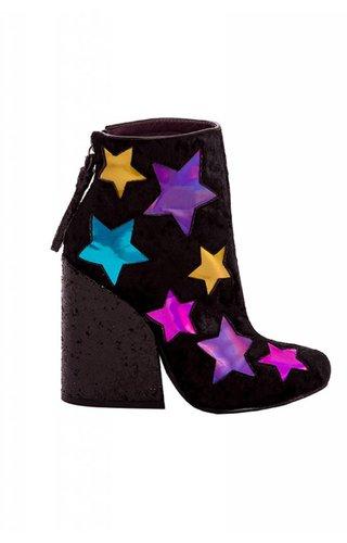 YRU YRU Velvet Jem Ankle Boots