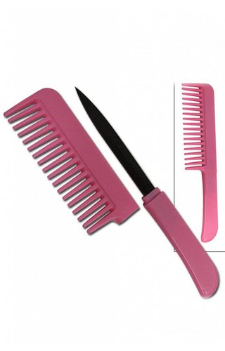 Pink Covert Comb Knife