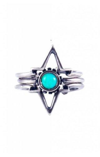Ettika Power of Three Ring