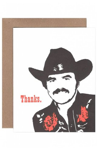 Burt Thanks Card