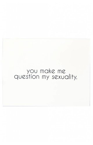 Question Sexuality Card