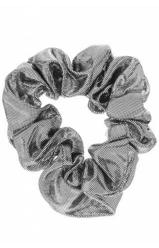 Girly Metallic Scrunchie