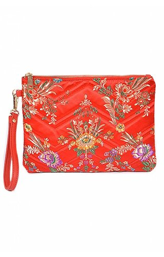 Merveille Blossom Moon Clutch