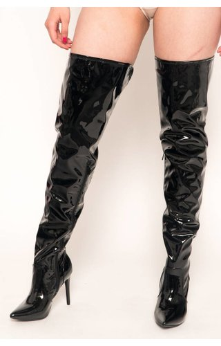 Cat Woman Thigh High Boots