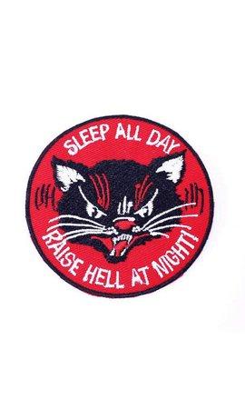 MissHappyPink Sleep All Day Patch