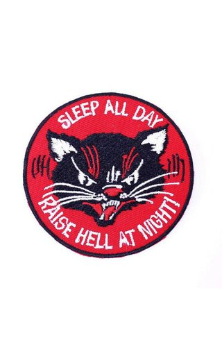 MissHappyPink Sleep All Day Patch