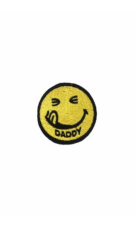 Daddy Smiley Patch
