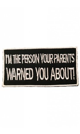 Parents Warned You Patch