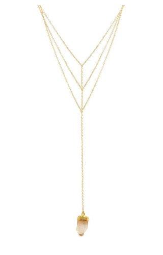 Tantalus Tri Drop Necklace