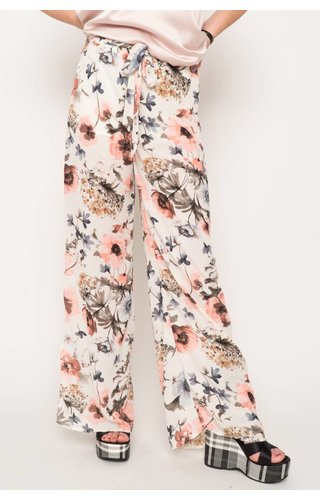 Dawn Floral Wide Leg Pants