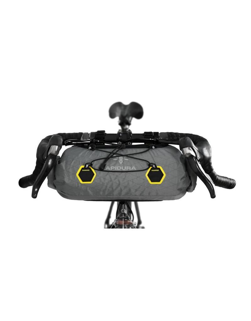 Apidura Apidura Front Handlebar Pack, Compact size 9 litre (touring/bikepacking/randonneur/commuter bag)