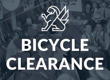 Bike Clearance