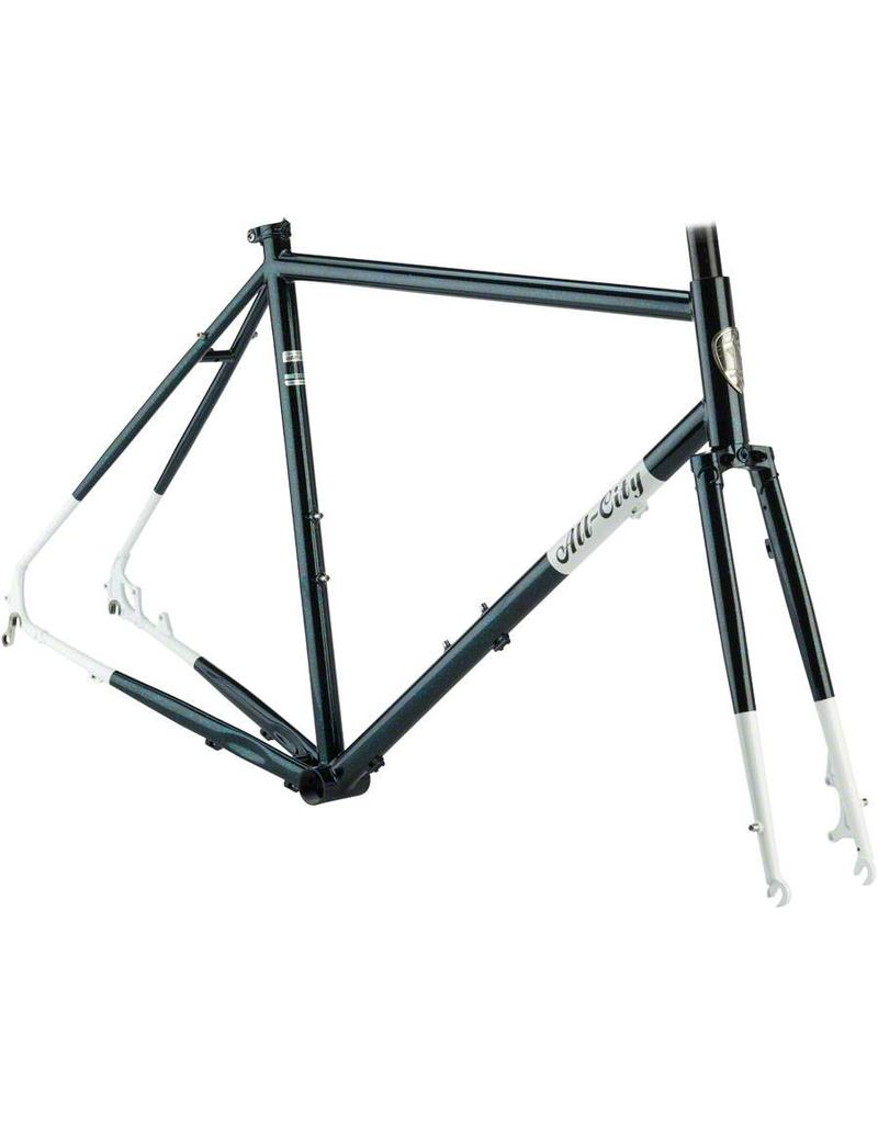 All-City 55cm All-City Macho Man Disc Frameset 55cm, Sparkle Black ...