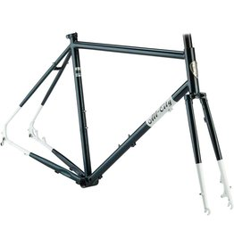 All-City 52cm All-City Macho Man Disc Frameset 52cm, Sparkle Black/White