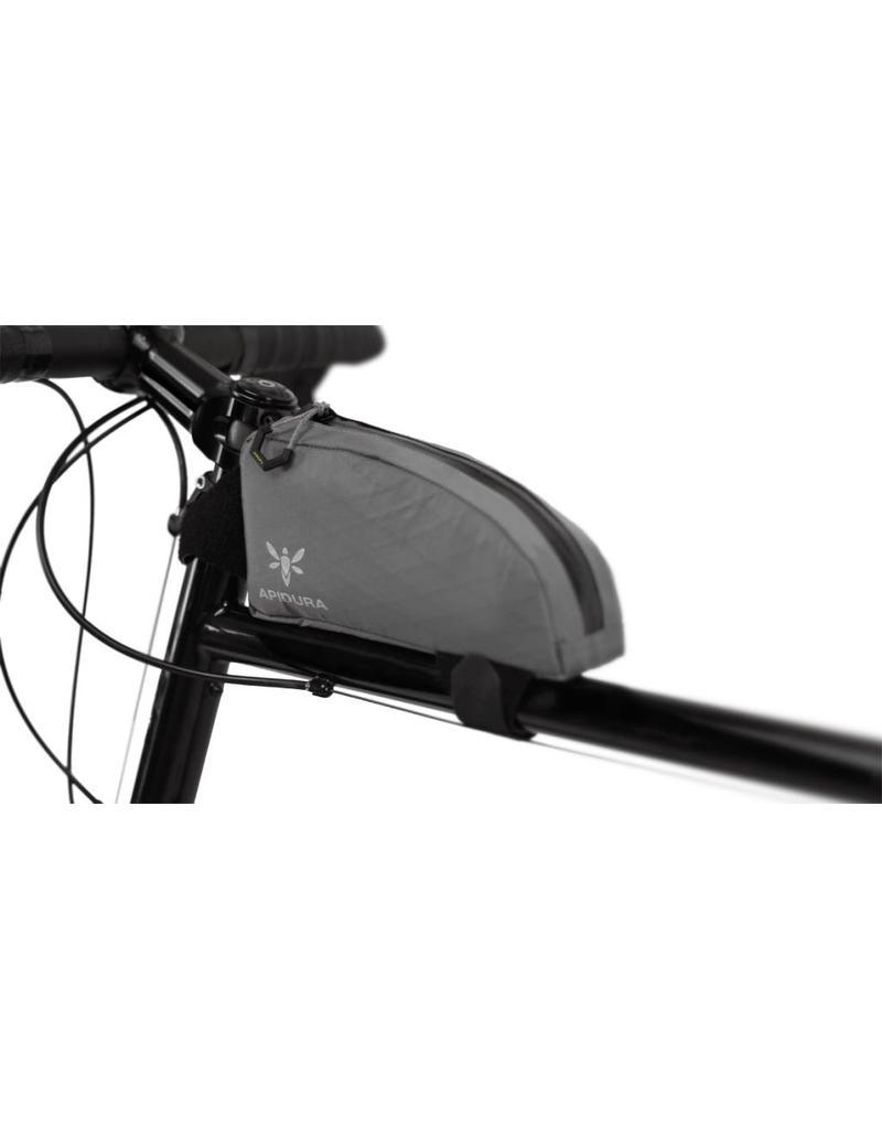 Apidura Apidura Top Tube Pack Extended size 1l litre (touring/bikepacking/randonneur/commuter bag)