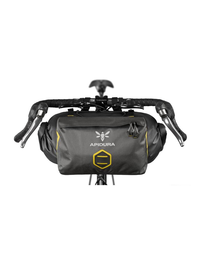 Apidura Apidura Front DRY Handlebar Accessory Add-on Pocket, 5 litre (touring/bikepacking/randonneur/commuter bag)