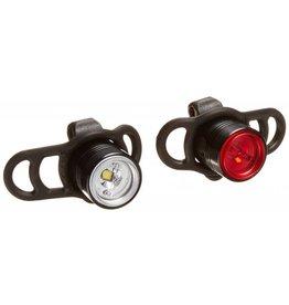 Lezyne Lezyne LED Femto Drive Flashing Light Pair Black