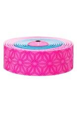 Supacaz Supacaz SSK Neon Pink & Neon Blue Super Sticky Kush Handlebar Tape, Multi Colour  /set