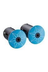 Supacaz Supacaz SSK Neon Green & Neon Blue Super Sticky Kush Handlebar Tape, Multi Colour  /set