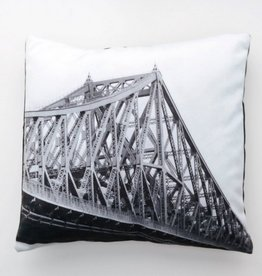 J-CARTIER BRIDGE FOTOFIBRE CUSHION 18x18