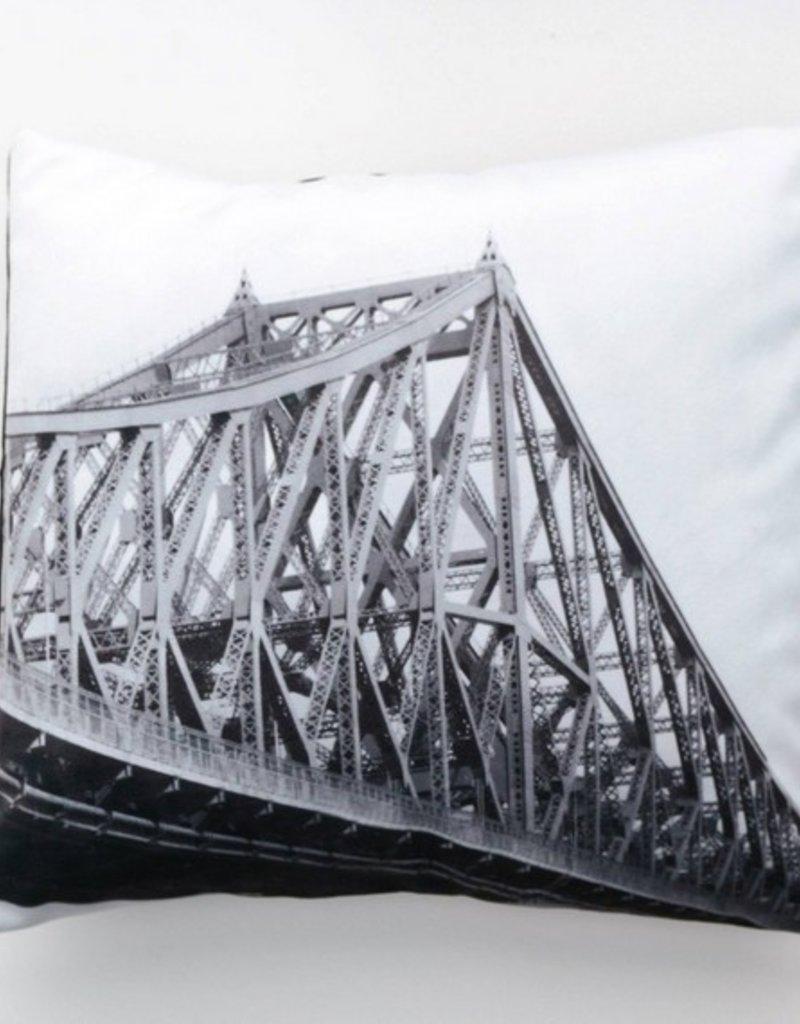 J-CARTIER BRIDGE FOTOFIBRE CUSHION 18x18