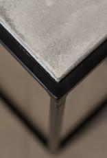 CONCRETE SIDE TABLE LeNOIR BY LOVASI