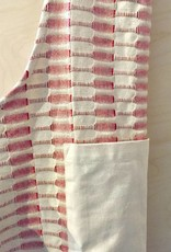 RED APRON IN COTTON FABRIC WITH POCKET