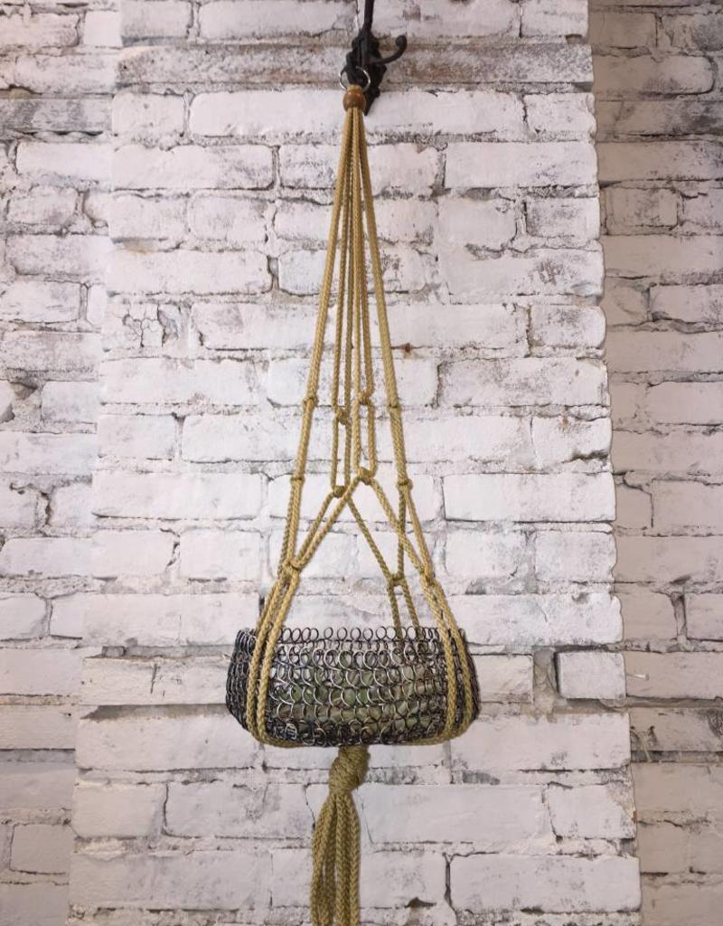 "TAI MACRAMÉ 36 ""WITH WOODEN BALLS"