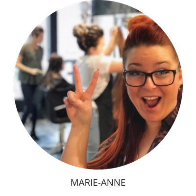 Marie-Anne coiffeuse Mirage