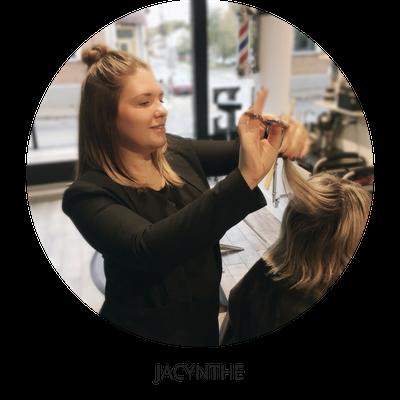 Jacynthe coiffeuse