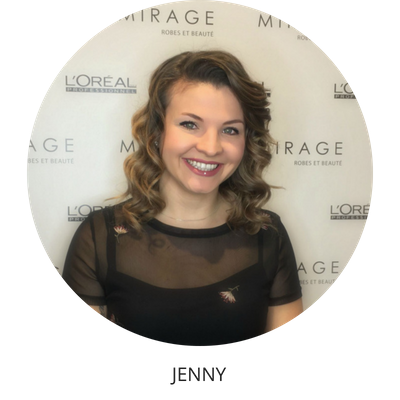 Jenny coiffeuse Mirage