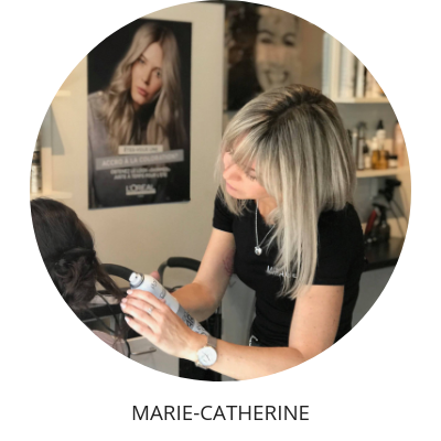 Marie-Catherine coiffeuse Mirage