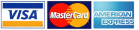 Online payments: Visa, Mastercard, American Express