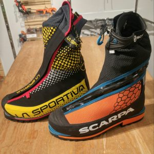 La Sportiva G5, Scarpa Phantom Tech